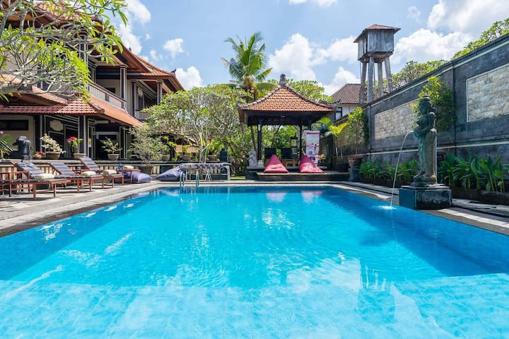 SPECIAL MONTHLY RENT Suite+Pool near Monkey Forest