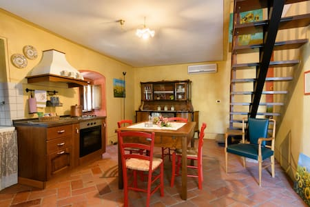 """Il Ghianderino""3 sleeps apartment - Laterina"