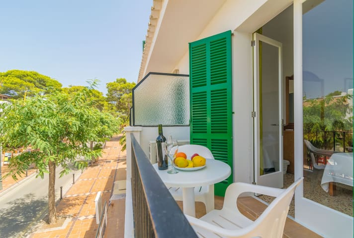 HOSTAL TALAMANCA HAB. DB BALCON - Room for couples in Cala D'Or.