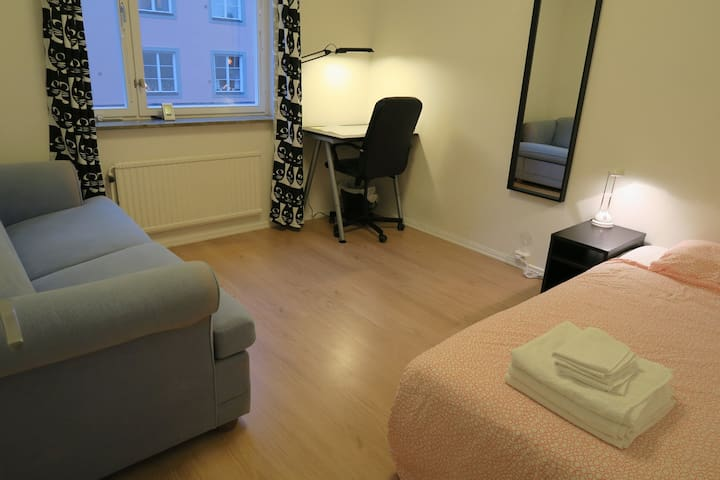 Tidy room at the hottest spot of Södermalm - Stockholm
