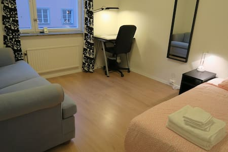 Tidy room at the heart of Stockholm - Stockholm