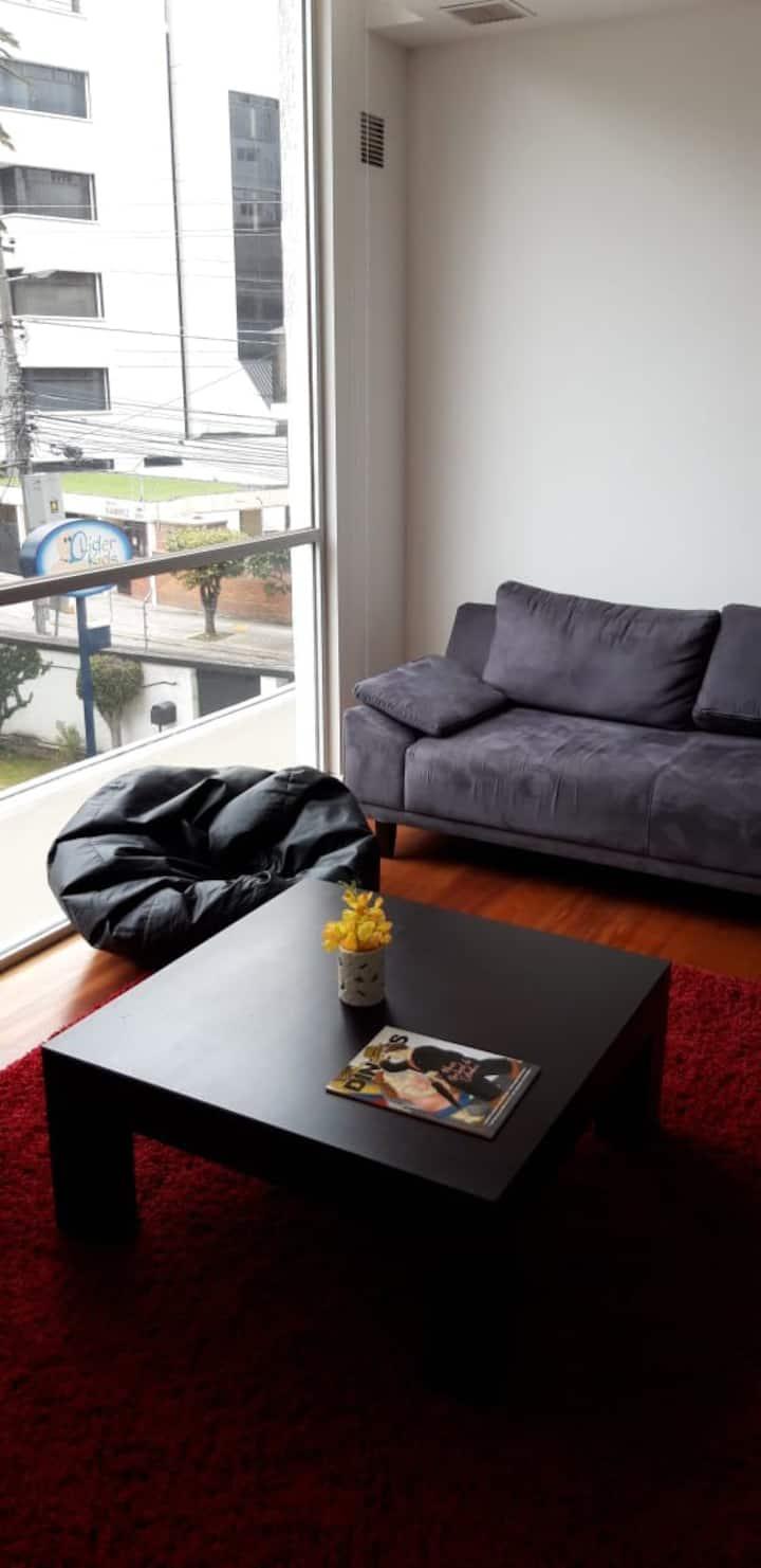 Comoda suite en el mejor lugar de Quito