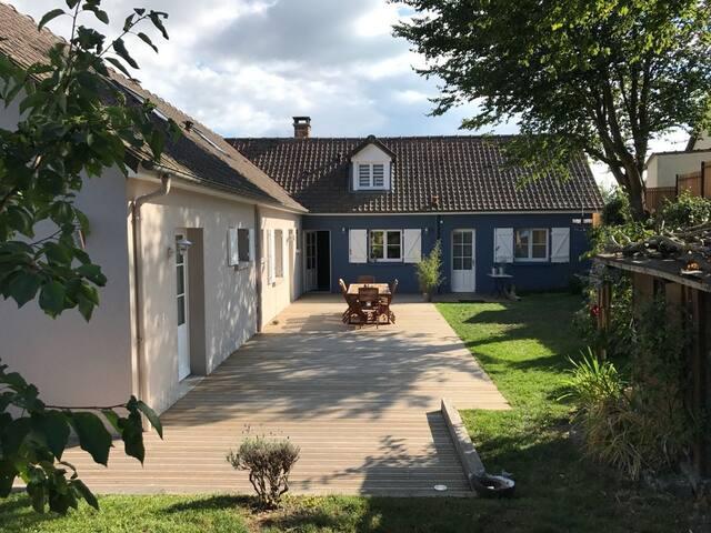 chambre la belle étoile, en Baie de Somme