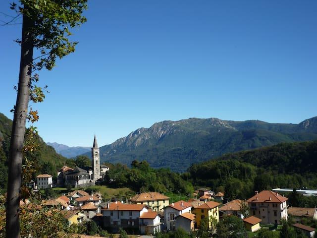 Cesara - Panorama con vista sul Mottarone