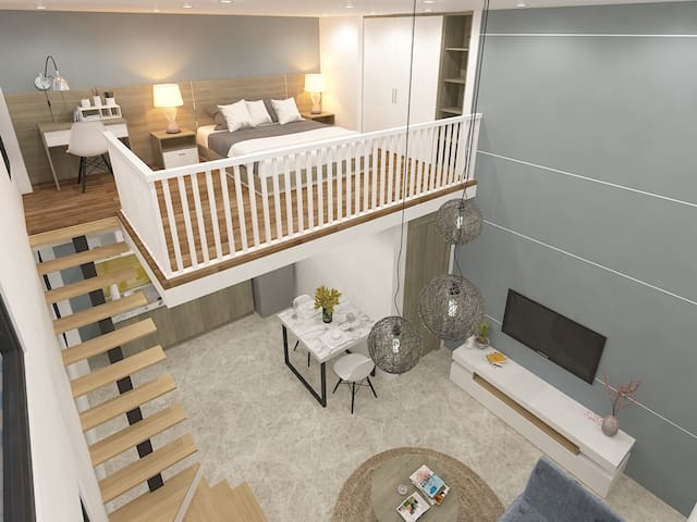 Le Conte Danang Mezzanine room 601 - Da Nang - Apartamento