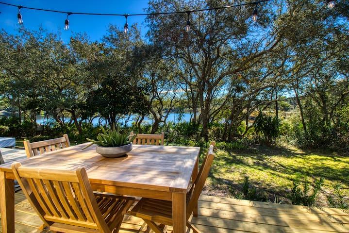 Waterfront Gem with Dock on 30A | Kayak to Beach!