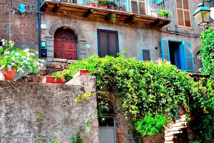 Casa con vista a Vallerano