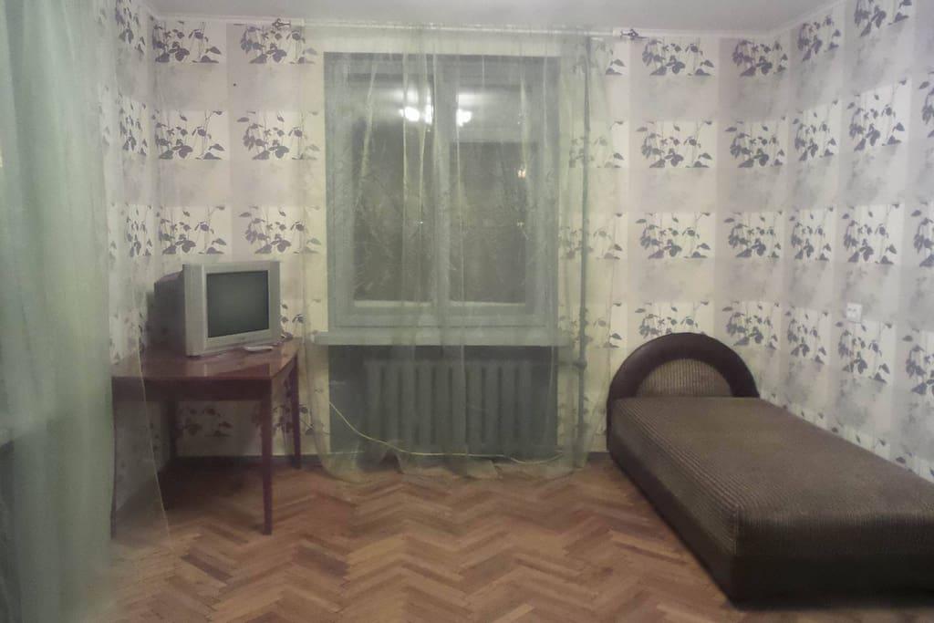 The living room/ жилая комната
