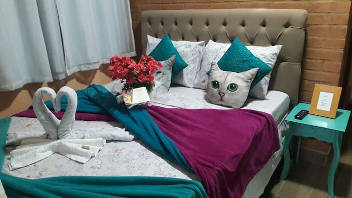 Toca Hospedaria - Apartamento Gato