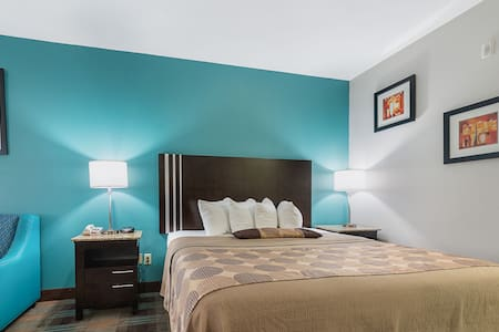 Available Room Double Bed Non Smoking At Lake Charles