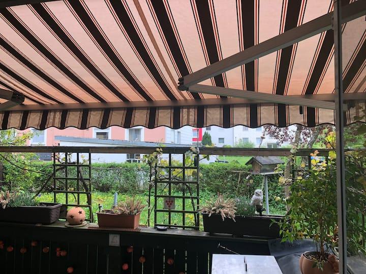 Schöne 3 Zimmer Wohnung mit Gartenterrasse