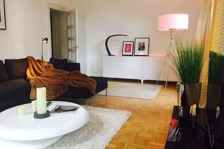 Spacious, Luxury & Sunny Apartment + Free Parking - Wiesbaden - Apartment