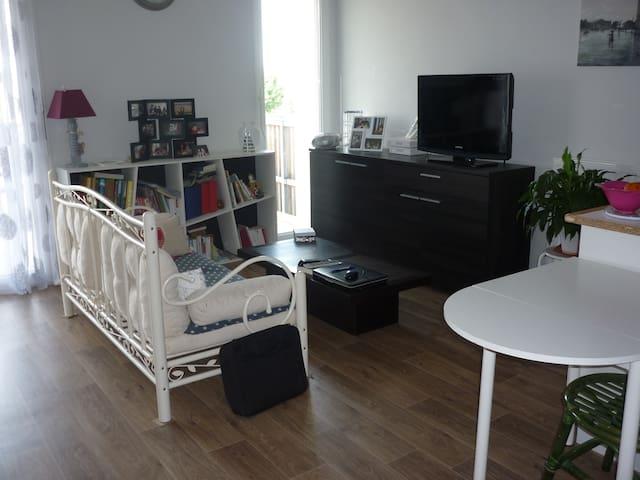 appartement T2 neuf proche bordeaux - Le Taillan-Médoc - Leilighet