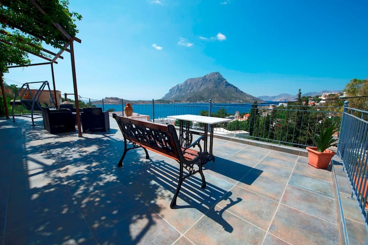Panorama apartment Myrties Kalymnos