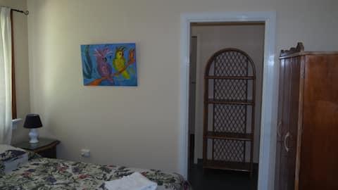 Family room at Babinda Quarters in Babinda.