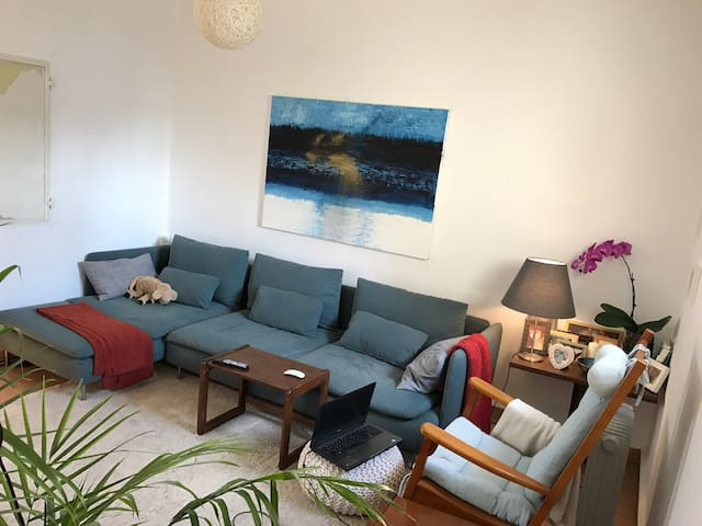 Atmospheric place with a garden, Hahaskala Blvd - Tel Aviv-Yafo - Appartement