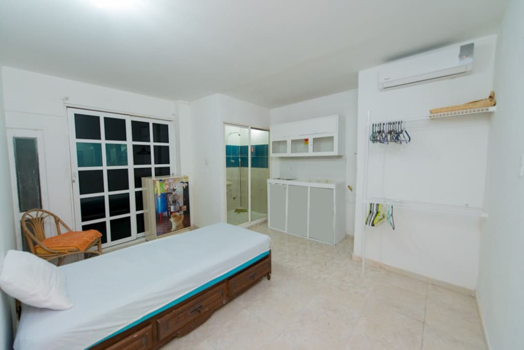 studio super close to down town wohnungen zur miete in cartagena bolivar kolumbien. Black Bedroom Furniture Sets. Home Design Ideas