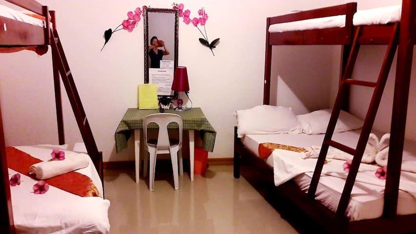 Flower garden hostel