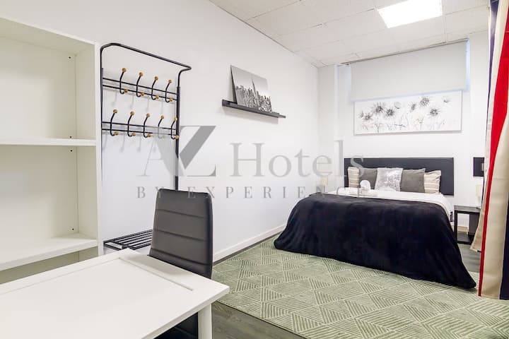 Great double room 10 min from the airport/Ifema