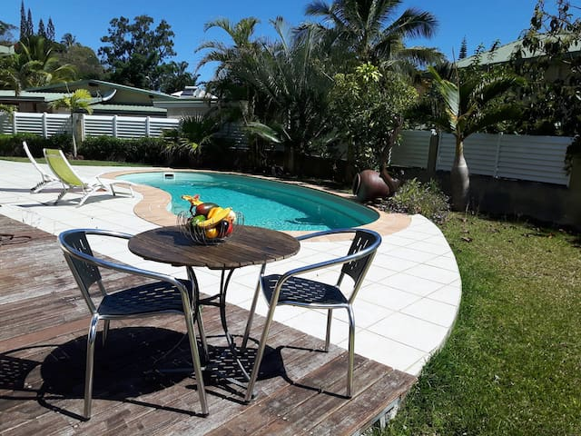 Privacy Room, Swiming Pool great for hollidays ! - Nouméa - Dom