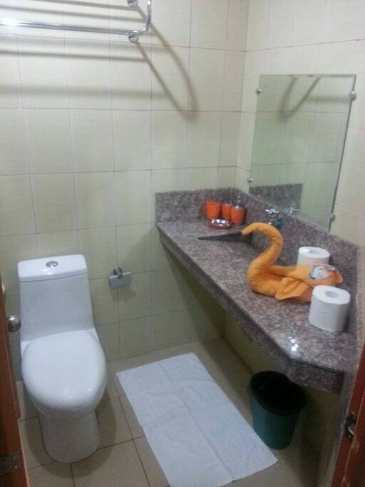 Private Toilet and Bath