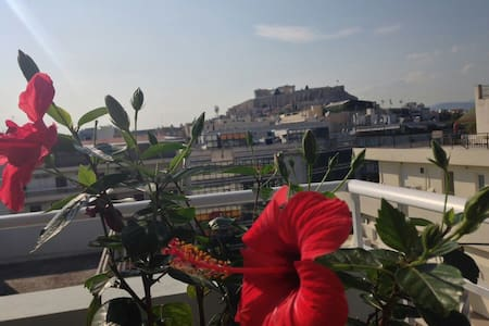 View of Acropolis from your bed! - Athina