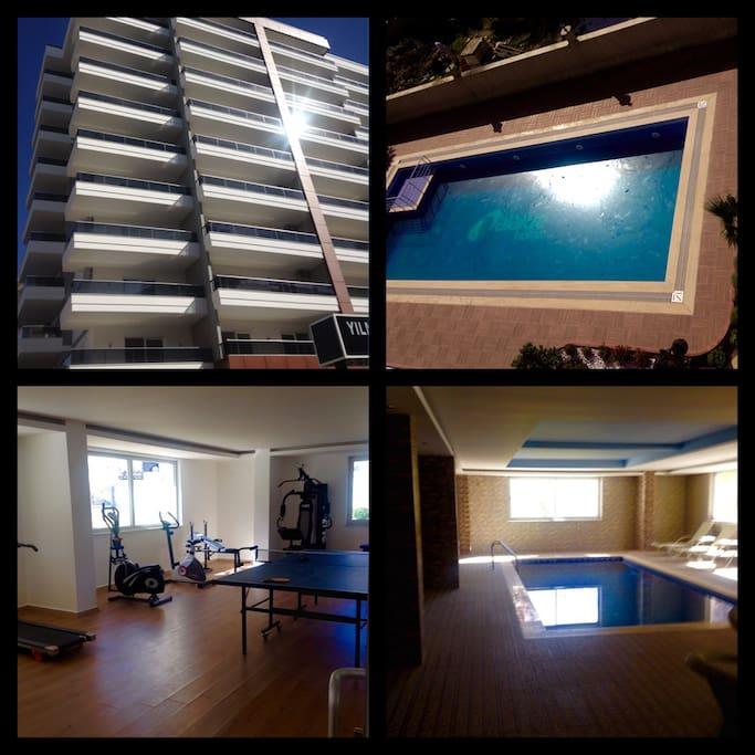 Apartment facility/Услуги комплекса