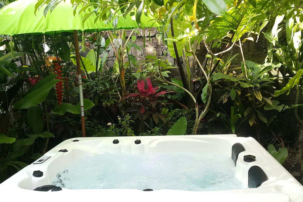 Open air Jacuzzi in the Jungle