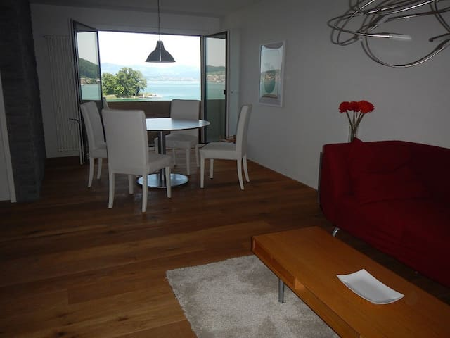 Paradise Lakeside Apartment with 3 bedrooms (B) - Bäch - Apartment