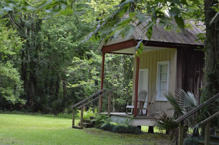 The Cajun Village Cottage Honeymoon Suite