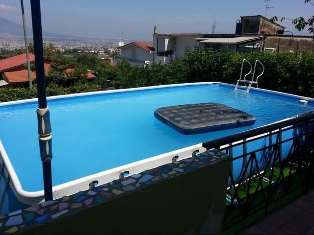 Nargis Stabiae: Gulf view,  swimmingpool,  garden