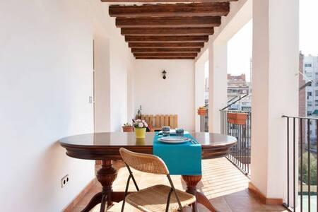 Individual bedroom - Барселона - Квартира