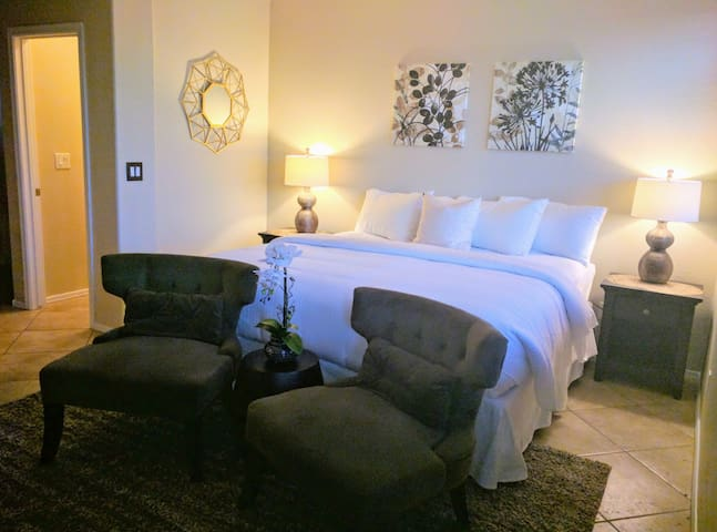 Luxury Master Suite with Resort Style Pool