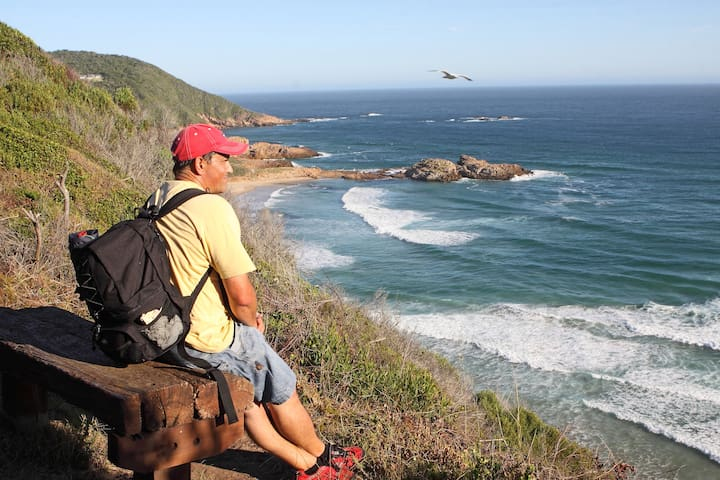 Fisherman's walk is a romantic and scenic cliff top path where schools of dolphins and whales are often spotted