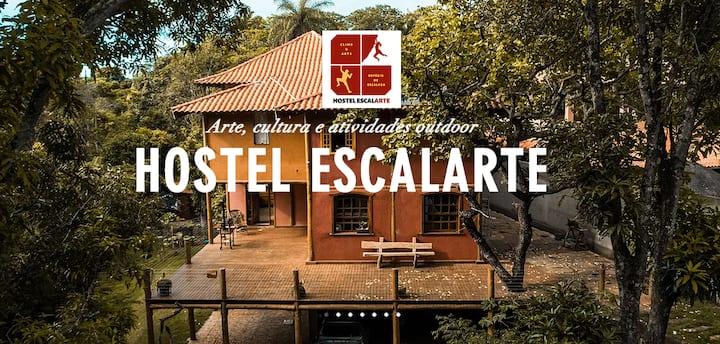 Hostel Escalarte - Quarto Privativo até 4 Pessoas