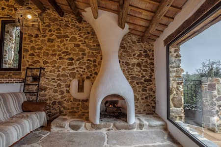 MASIA LA ROVIRA, AMAZING COTTAGE FROM S.XVI