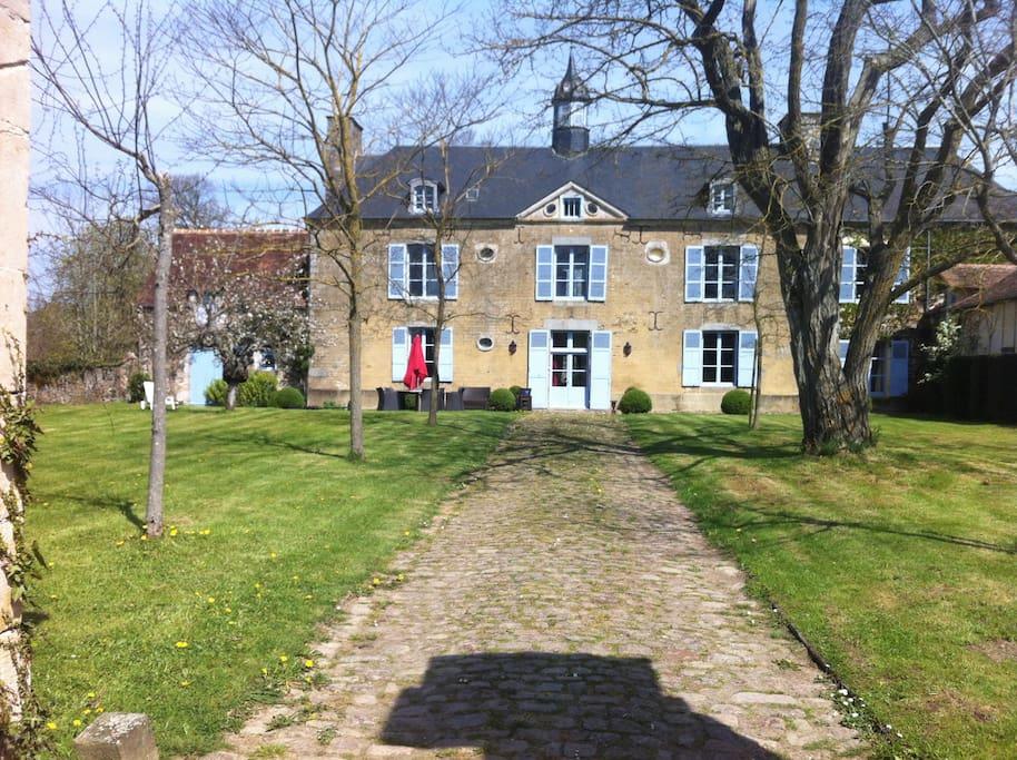 Le domaine de cordey dans l 39 orne chambres d 39 h tes louer bouc normandie france - Chambre d hote bagnoles de l orne ...
