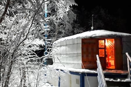 Northernmost Yurt in the world + transport service