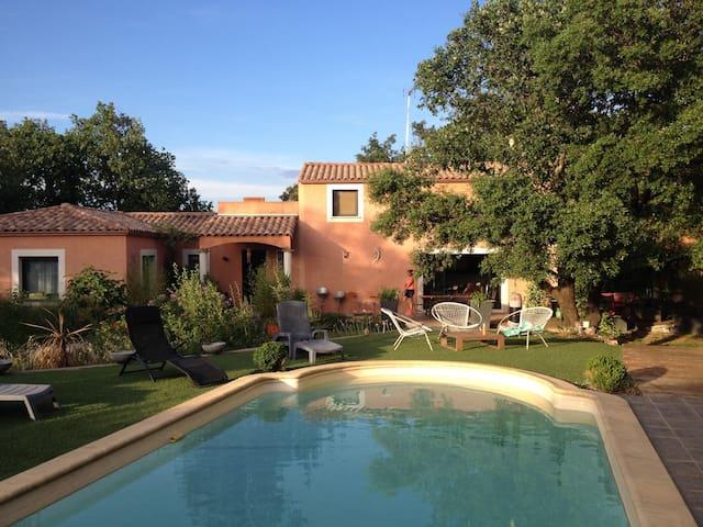 Villa contemporaine Pic saint loup - Sainte-Croix-de-Quintillargues - Villa