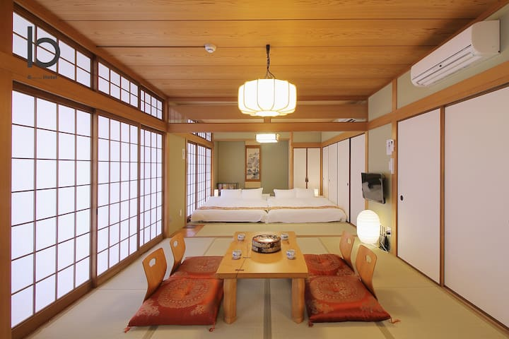 3 Bedroom Japanese apartment for 11 people 201