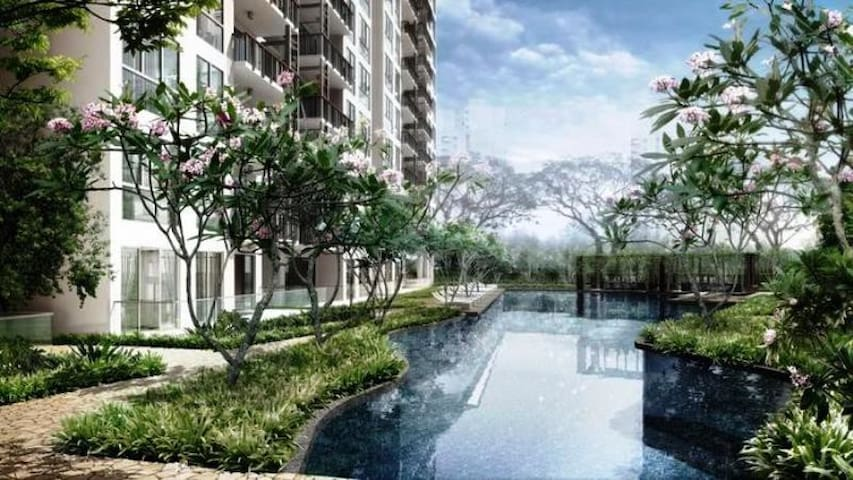 eHome-Cozy Apartment (Tanah Merah MRT)