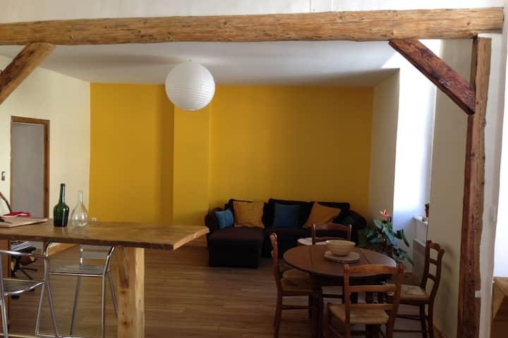 Appartement charmant cour intérieure.