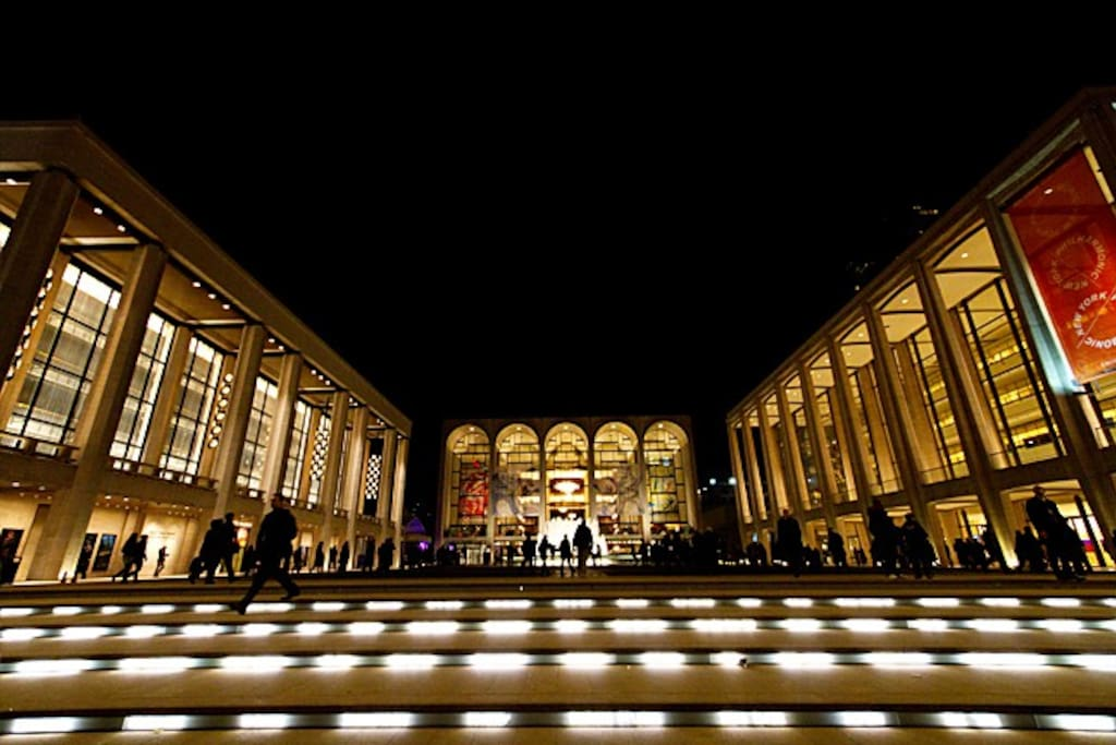We are located right next to this beautiful Lincoln Center :)