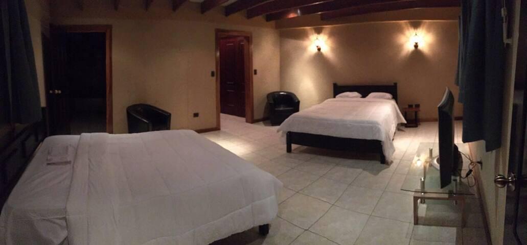 La Mansion Art Gallery Home w Pool - Escazu - Bed & Breakfast
