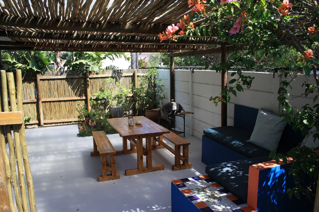 Private outside living space