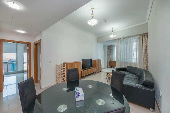 Full seaview room w/service+terrace in luxury 3BR