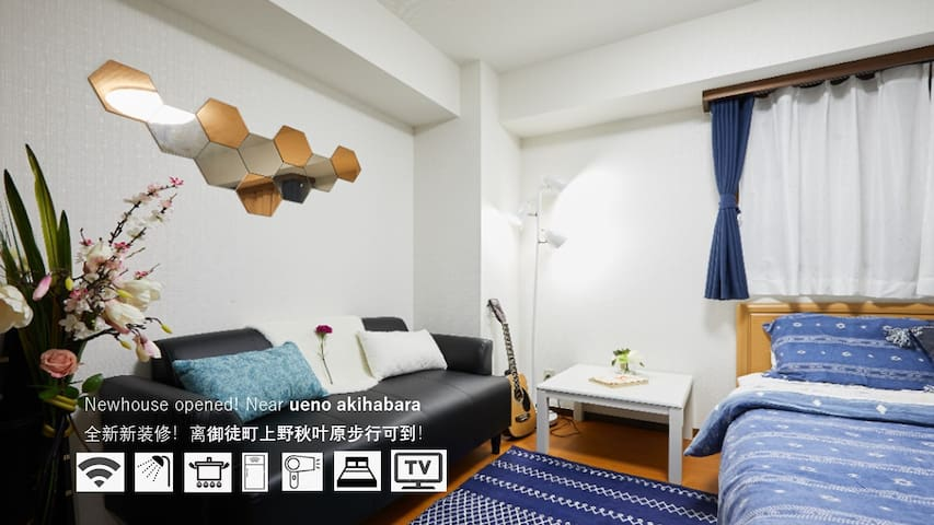 【sale】goodlocation/ueno/akihabara for 5mins walk/