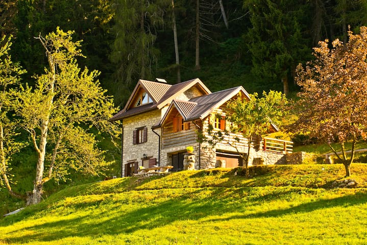 CHALET SURROUNDED BY PURE NATURE - Enego - Blockhütte