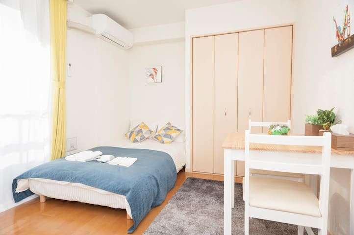 New!!2min station-Near Shinjuku Luxuary house26 - Shinjuku-ku - Byt