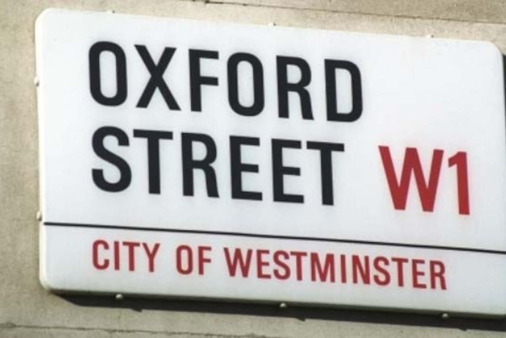 oxford street very close by